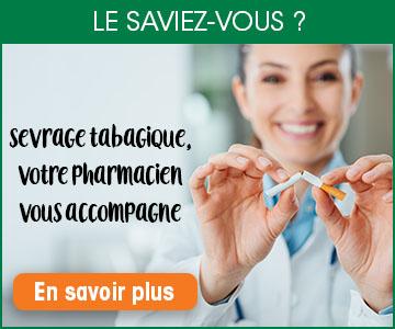 Sevragetabagique, votre pharmacien peut vous aider