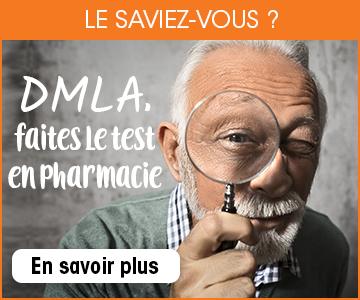 DMLA, faites le test en pharmacie