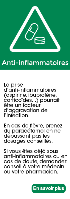 Anti inflammatoire corona virus