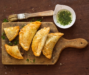 Empanadas aigre-doux au poulet