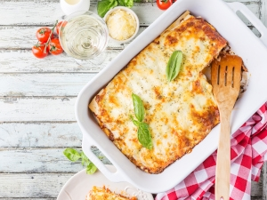 plat de lasagne
