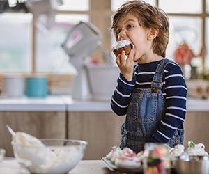 Recette de cupcakes à la vanille, amande et chocolat