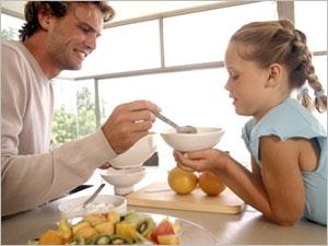 L'alimention pour la bonne croissance de l'enfant