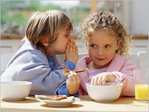 Les bonne habitudes alimentaires pour l'enfant