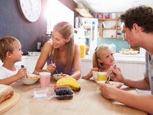 L'alimentation équilibrée des enfants