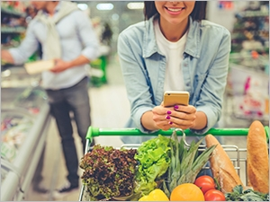 Manger plus sain avec l'application yuka