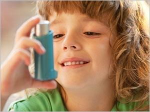 Les symptômes et les traitements de l'asthme chez le bébé et l'enfant