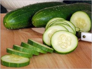 L'apport nutritionnel du concombre