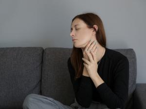 Douleur aux amygdales