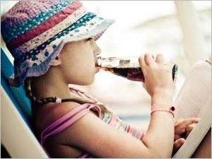Attention aux boissons sucrées chez les enfants et les adolescents
