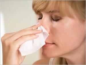 comment arreter une hemorragie nasale
