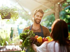 5 fruits et légumes de printemps