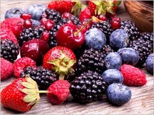 Les atouts santé des fruits rouges