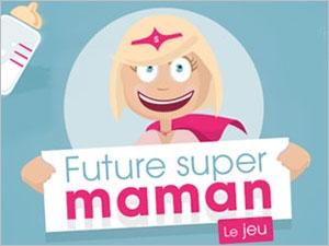 Apprenez tout sur votre grossesse avec le jeu future super maman !