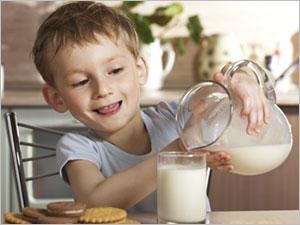 Du lait après le sucré pour limiter les caries