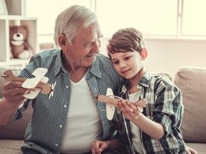 Le lien grands-parents et petits-enfants