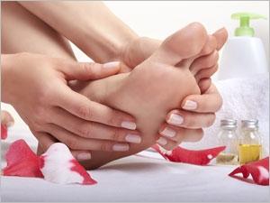 Automassage des pieds