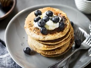 Recette de pancakes aux graines de chia