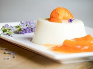 Pannacotta aux abricots