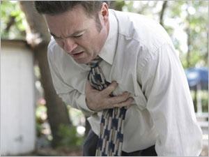 Les risques d'un infarctus