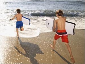 Les activités physiques à la plage