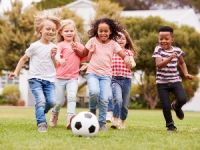 enfants pratique du sport