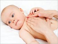 Massages à faire à votre bébé