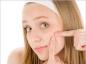 Eviter les cicatrices des boutons d'acné