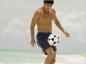 La pratique du beach soccer