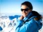 Au ski protégez vos yeux en portant des lunettes de soleil